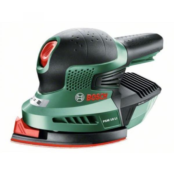 new Bosch PSM 18 Li -BARE TOOL- - Cordless 18v Sander 06033A1301 3165140571975 #1 image