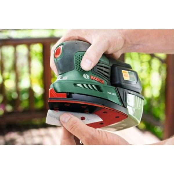 4-ONLY new Bosch PSM 18 Li Cordless 2.0AH  18v Sander 06033A1301 3165140571975 * #3 image