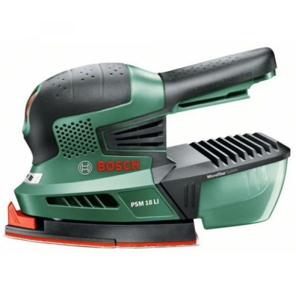 4-ONLY new Bosch PSM 18 Li Cordless 2.0AH  18v Sander 06033A1301 3165140571975 * #7 image