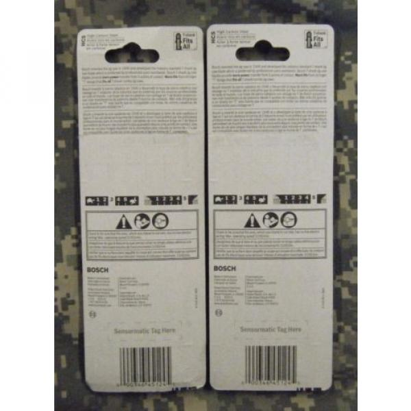 BOSCH-T308BP 5 Pc. 3-1/2 In. 12 TPI Precision for Wood High Carbon Steel Jig #2 image