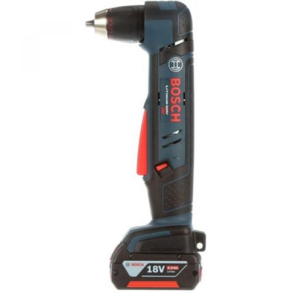 Cordless Right Angle Drill Variable Speed Keyless Chuck 18 Volt Lithium-Ion Kit #2 image