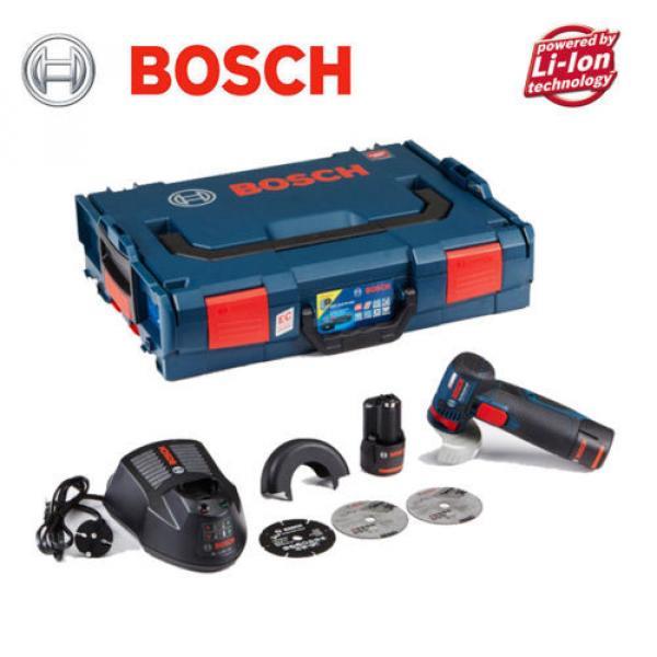 """Bosch GWS 10.8-76 V-EC Professional Cordless 3"""" Angle Grinder (2x2.0Ah) - Fedex #1 image"""