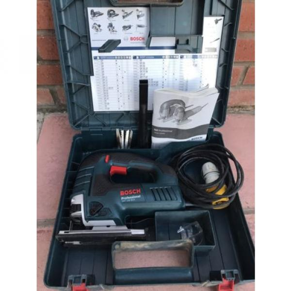 Bosch GST150 BCE  110v Heavy Duty Orbital Jigsaw + Carry Case #1 image