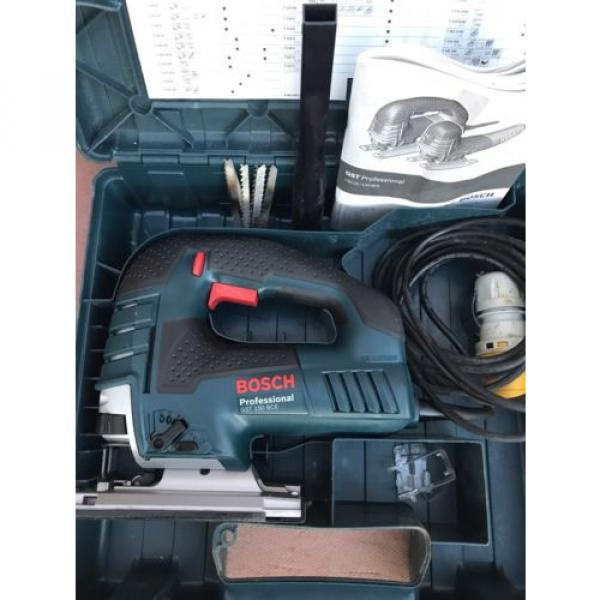 Bosch GST150 BCE  110v Heavy Duty Orbital Jigsaw + Carry Case #2 image