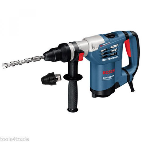 Bosch GBH4-32DFR Multidrill 4Kg 900W SDS+ Rotary Hammer 240V With Accessories #3 image