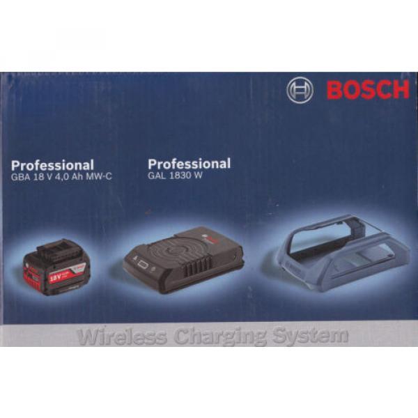 Bosch Set WIRELESS batteria 18V 4 Ah + CARICABATTERIE WIRELESS GAL 1830 W boch #1 image