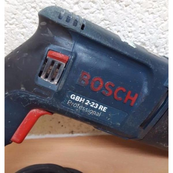 BOSCH GBH 2-23 RE PROFESSIONAL ROTARY HAMMER DRILL #7 image