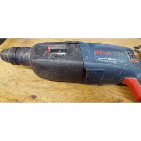 BOSCH GBH 2-23 RE PROFESSIONAL ROTARY HAMMER DRILL #11 image