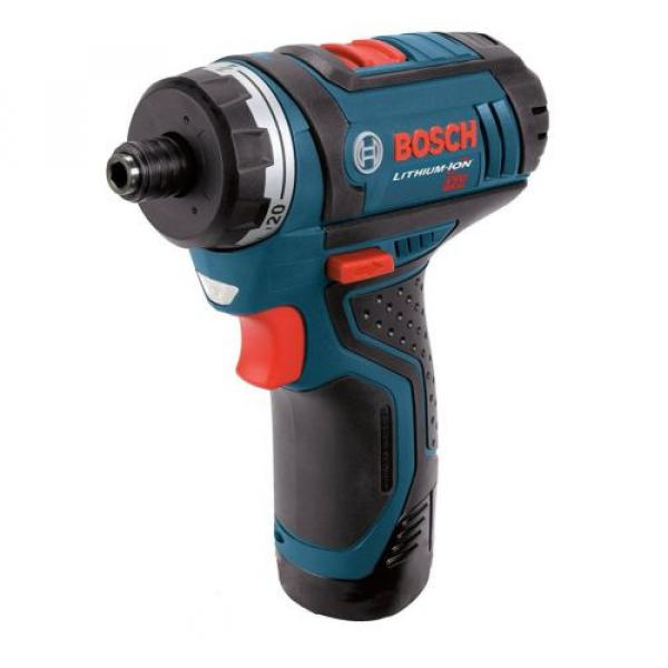 Cordless Lithium-Ion 2-Speed Pocket Drill Driver Kit Bosch PS21-2A 12-Volt Max #2 image