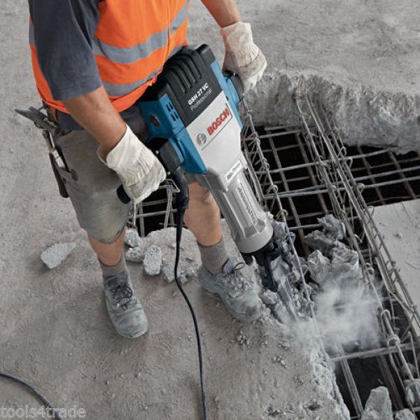 Bosch GSH 27 VC 29kg Demolition Hammer Electric Breaker 110V - 061130A060 #3 image