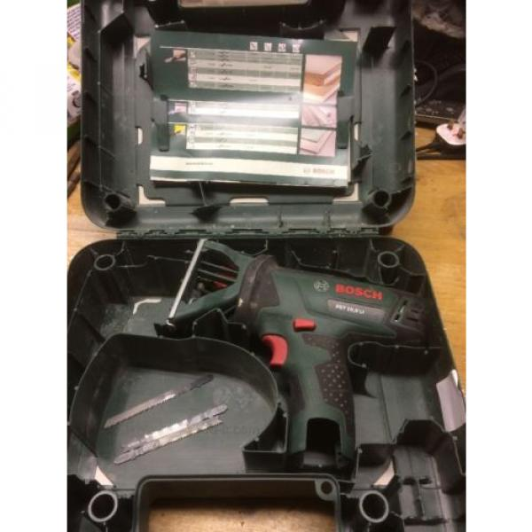 Bosch PST 10.8 Li Bare Unit With Case And Spare Blades. Jigsaw. #1 image