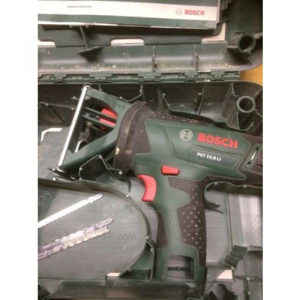 Bosch PST 10.8 Li Bare Unit With Case And Spare Blades. Jigsaw. #2 image