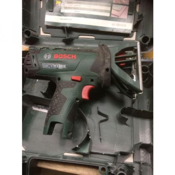 Bosch PST 10.8 Li Bare Unit With Case And Spare Blades. Jigsaw. #7 image