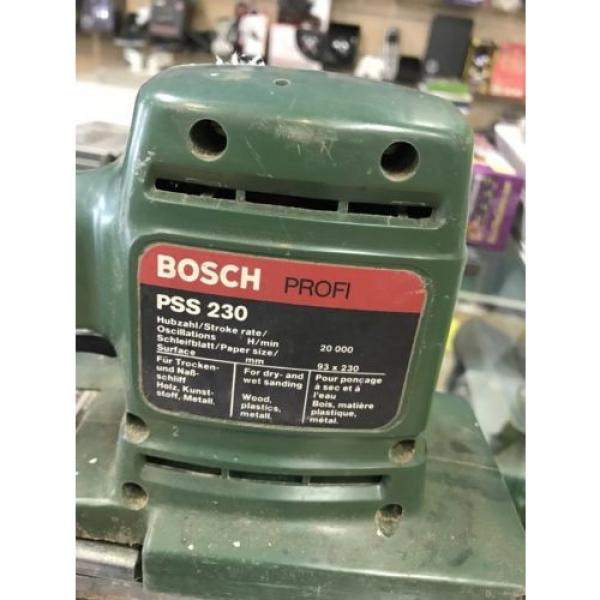 BOSCH ELECTRIC ORBITAL SANDER PSS230 #4 image
