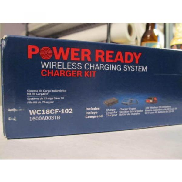 Bosch Tools 18V Wireless Charging Starter Kit w/ BATTERY & Frame WC18CF-102 NEW #8 image