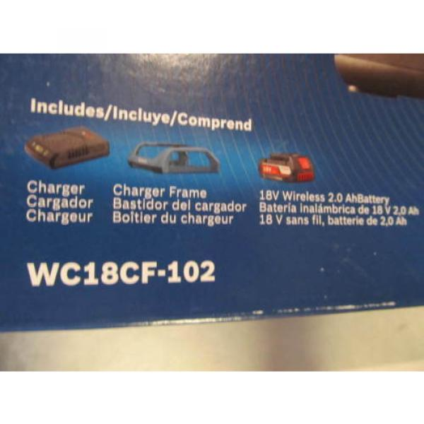 Bosch Tools 18V Wireless Charging Starter Kit w/ BATTERY & Frame WC18CF-102 NEW #9 image