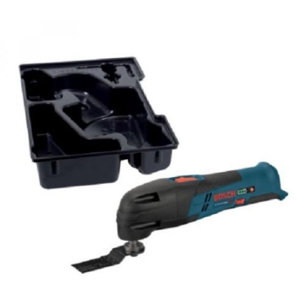 Bosch Multi-X Cordless 12 Volt Variable Speed Hardwoord Oscillating Tool Kit New #1 image