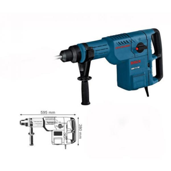 Bosch GBH11DE 1500W Rotary Hammer with SDS-max, 220V Type-C #2 image