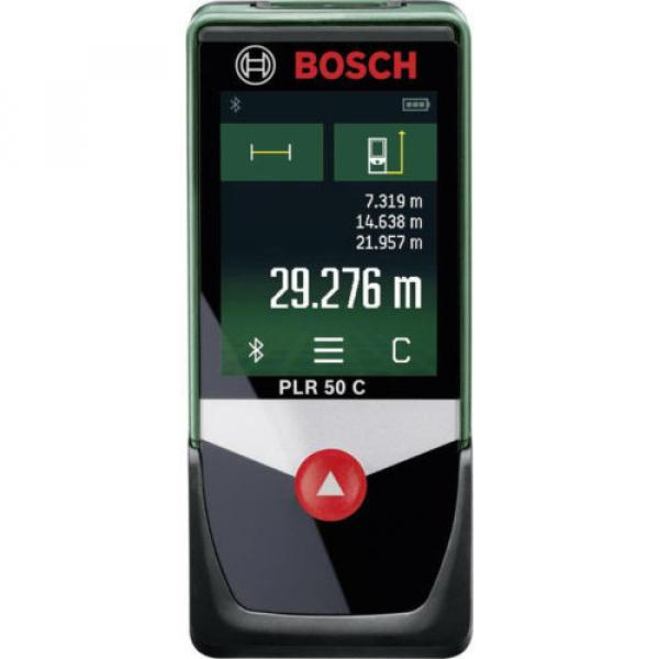 BOSCH PLR 50 C distanziometro Laser Misuratore distanza Manometro max 50 m NUOVO #1 image