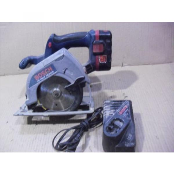 """Bosch 18 Volt 5-3/8"""" Cordless Saw # 1659 With BAT025 Battery & BC003 Charger #1 image"""