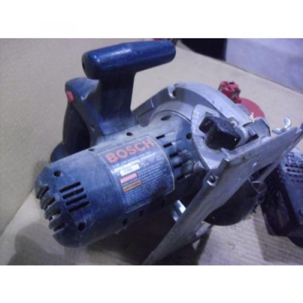 """Bosch 18 Volt 5-3/8"""" Cordless Saw # 1659 With BAT025 Battery & BC003 Charger #6 image"""