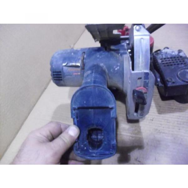 """Bosch 18 Volt 5-3/8"""" Cordless Saw # 1659 With BAT025 Battery & BC003 Charger #8 image"""