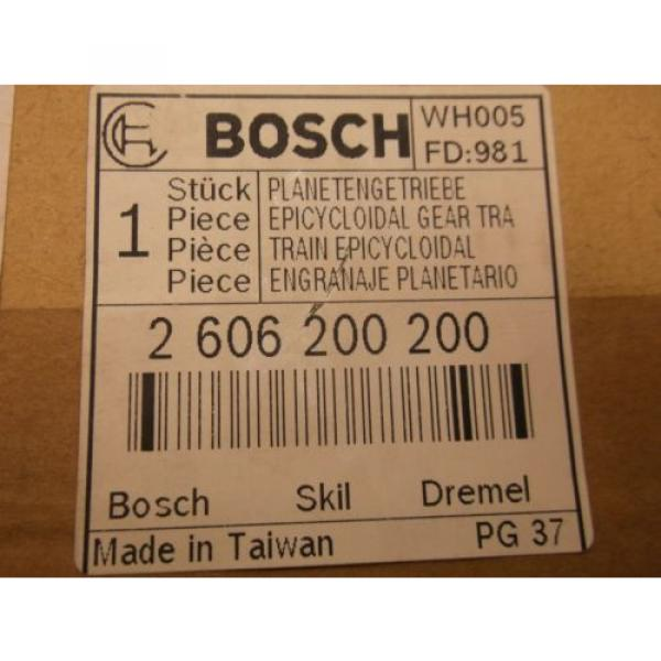 New BOSCH Service Parts 2606200200 Epicycloidal Gear Train (A42) #5 image
