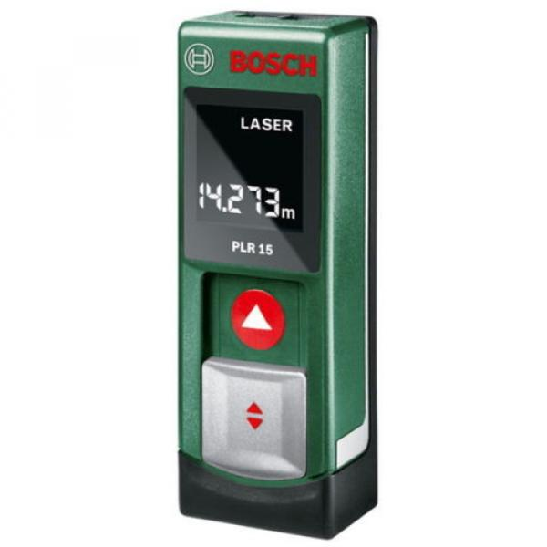 Digital Laser Rangefinder PLR15 Bosch from Japan New #1 image