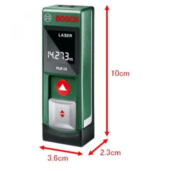 Digital Laser Rangefinder PLR15 Bosch from Japan New #3 image