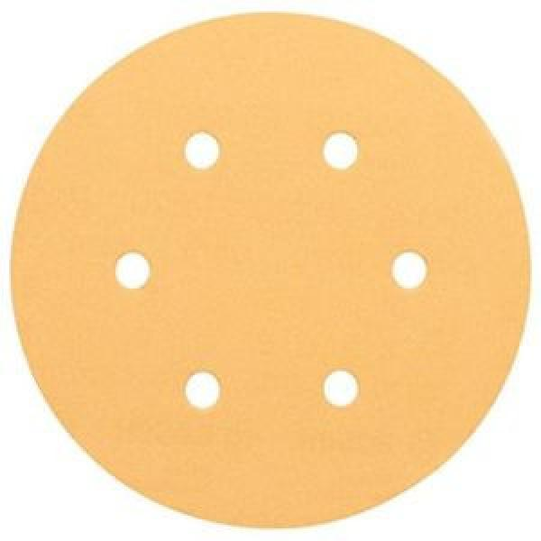 Bosch 2608607838 - Platorelli abrasivi B.f.Wood; 150 mm, P180, 6 fori, 50 pezzi #1 image