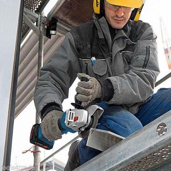 Bosch 18v GWS18 V-LI Cordless Angle Grinder + 1 x 4.0Ah Battery + Charger #3 image