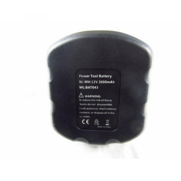 3Ah 12V Battery for Bosch 2607335249 2 607 335 261 2607335274 2607335414 Drill #2 image