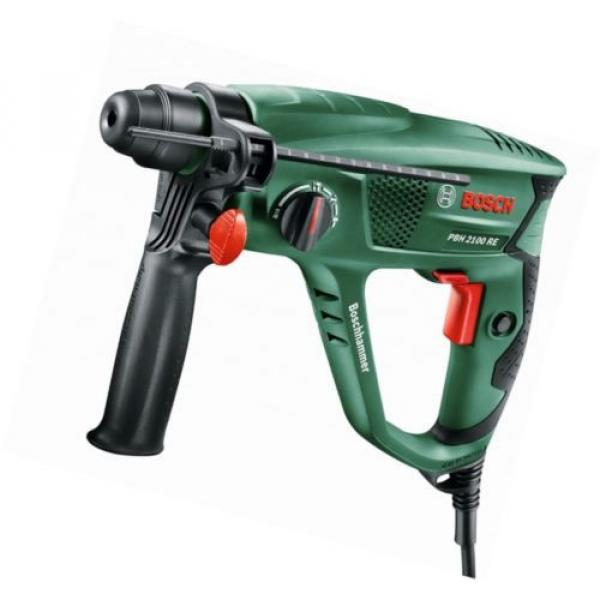New Bosch 6033A9370 PBH 2100 RE Pneumatic Rotary Hammer with Plastic Case #1 image