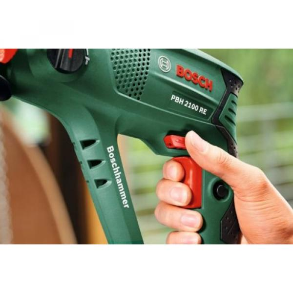 New Bosch 6033A9370 PBH 2100 RE Pneumatic Rotary Hammer with Plastic Case #3 image