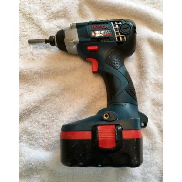 Bosch GDR 18v Impact Driver/Battery Bundle, Cordless Power Tool DIY #1 image