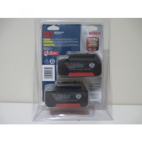 Bosch BAT619G 18V 3.0Ah Lithium-Ion FatPack Battery (2 Pack) #2 image