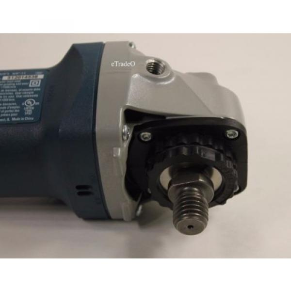 "Bosch 4.5"" 6 AMP Angle Grinder Free Shipping * Authorized Dealer * Full Warranty #12 image"