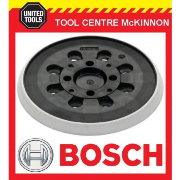 BOSCH PEX 300 AE, PEX 400 AE SANDER REPLACEMENT 125mm BASE / PAD - NEW STYLE #1 image
