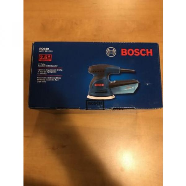 """NEW Bosch 5"""" Random Orbit Sander ROS10 #2 image"""