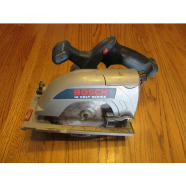 "Bosch 18V 6-1/2"" Cordless Circular Saw WORKS #1 image"