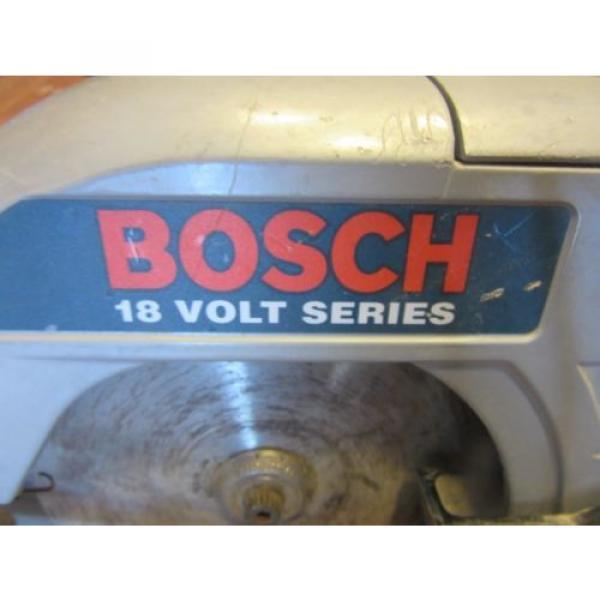 "Bosch 18V 6-1/2"" Cordless Circular Saw WORKS #2 image"