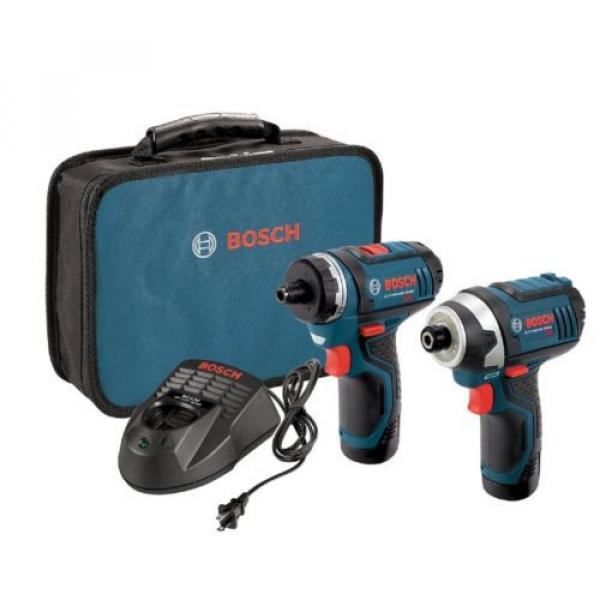 New Compact 12-Volt Max Lithium-Ion Drill/Driver and Impact Driver Combo Kit #1 image