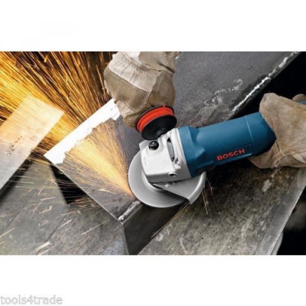Bosch GWS850 Angle Grinder With Diamond Blade 240V + 10 Thin Metal Inox Disc #6 image