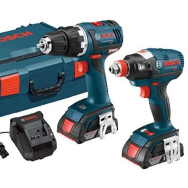 Bosch 18-Volt Lithium Ion (Li-ion) Brushless Motor Cordless Combo Kit Hard Case #2 image