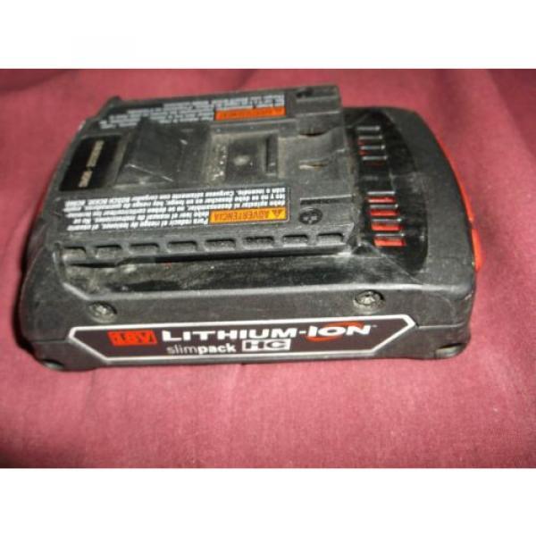Bosch BAT610G HC Cordless Drill Impact Battery 18v Volt Lithium Ion EUC #1 image