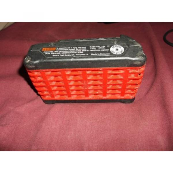 Bosch BAT610G HC Cordless Drill Impact Battery 18v Volt Lithium Ion EUC #4 image