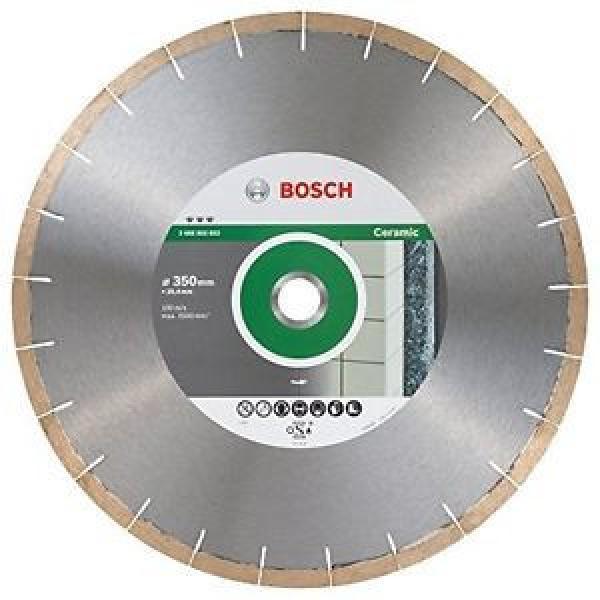 BOSCH disco diamantato Best per Ceramic and Stone, 350 x 25,40 x 1,8 x 10 mm, #1 image