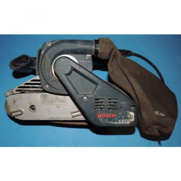 Bosch 3 x 24 Variable Speed Belt Sander 1272 with Bag USA #1 image