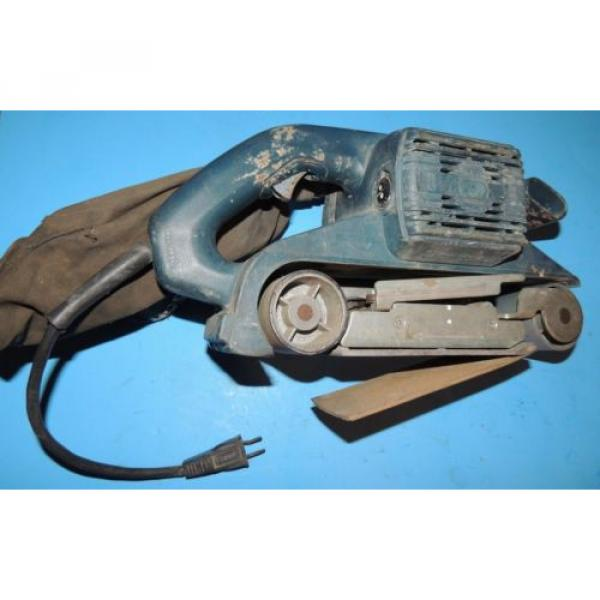 Bosch 3 x 24 Variable Speed Belt Sander 1272 with Bag USA #3 image