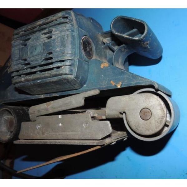 Bosch 3 x 24 Variable Speed Belt Sander 1272 with Bag USA #4 image
